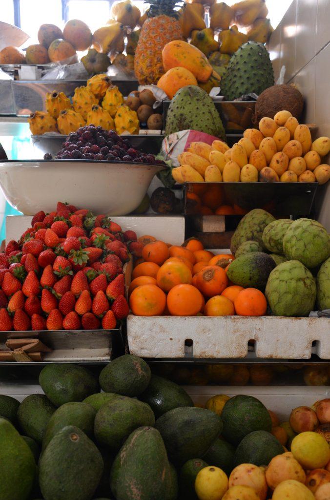 Quito Mercado Central Frutas