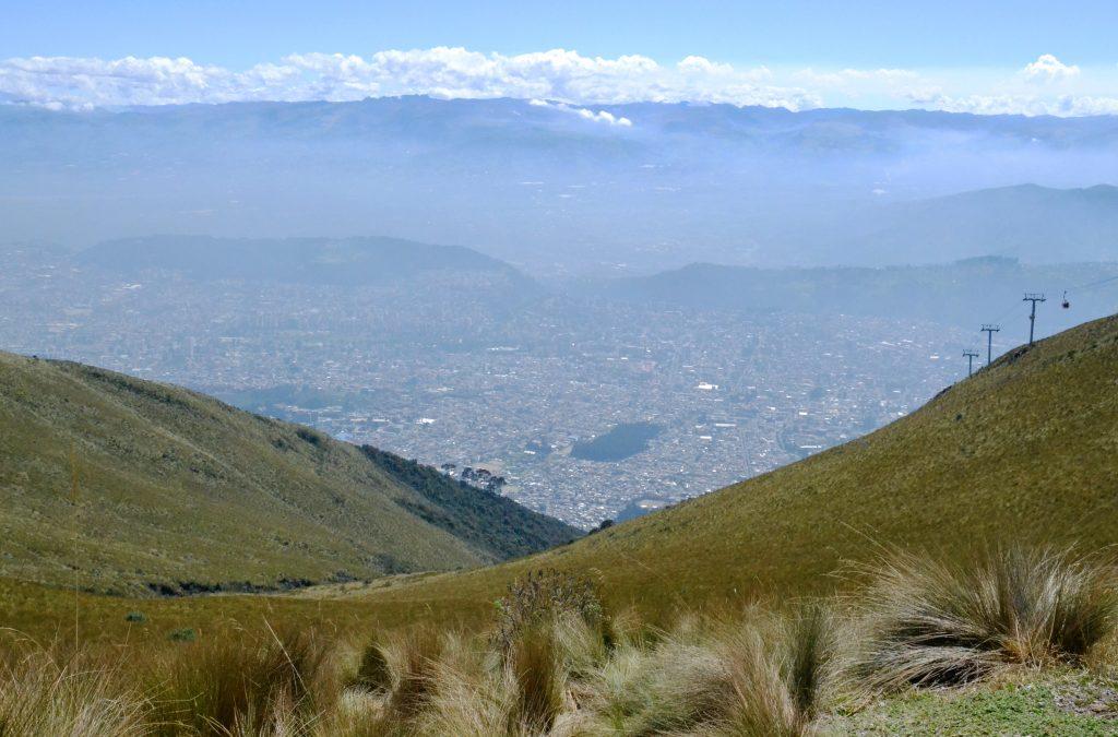 Vista del Teleferico