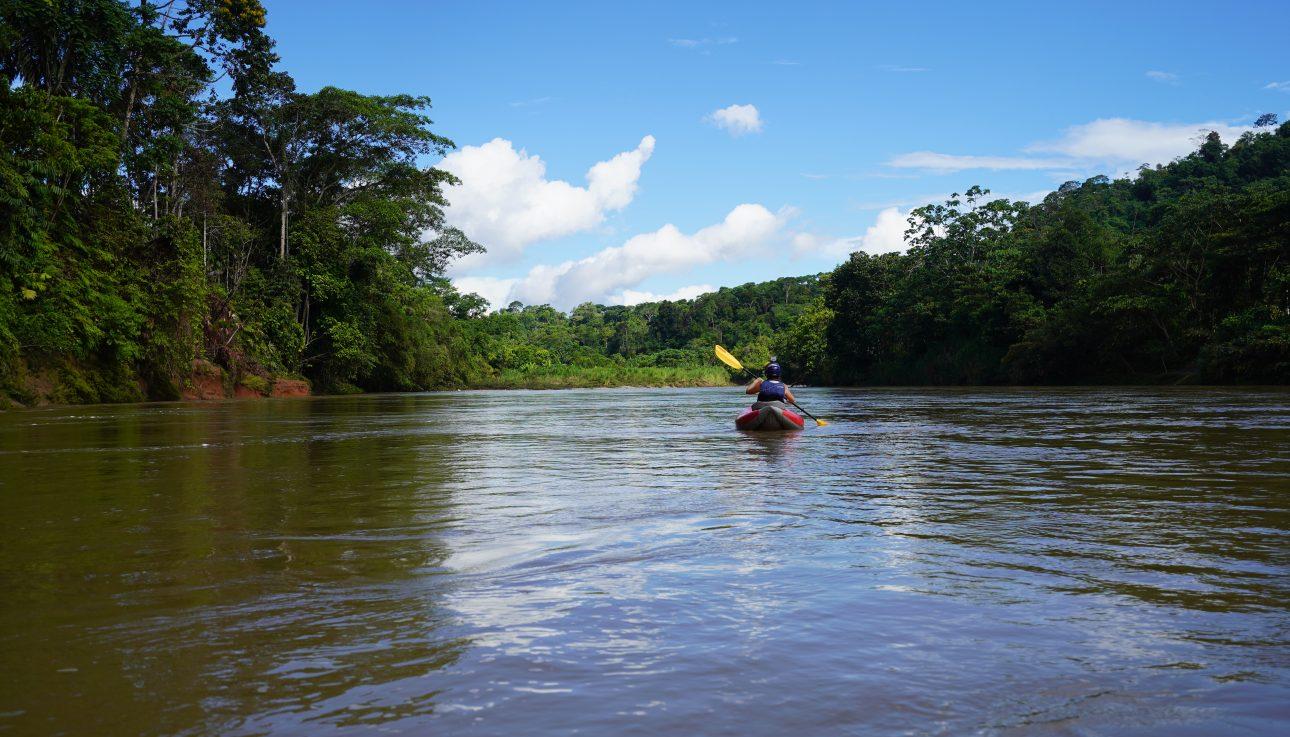 Kayaking Trip in Ecuador